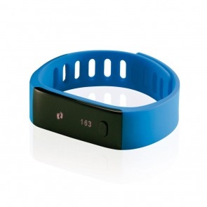Activity tracker, blue/black
