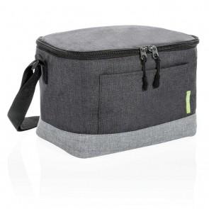 Duo color RPET cooler bag, grey
