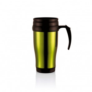 Stainless steel mug,