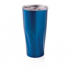 Copper vacuum insulated tumbler,