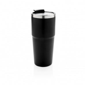 Light up logo tumbler, black