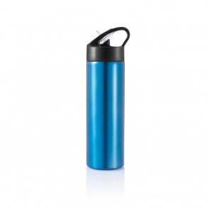 Sport bottle with straw,