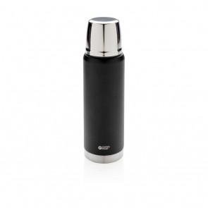 Swiss Peak Elite  1L copper vacuum flask, black