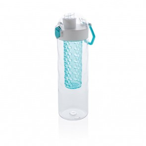 Honeycomb lockable leak proof infuser bottle,