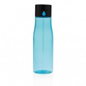 Aqua hydration tracking tritan bottle,