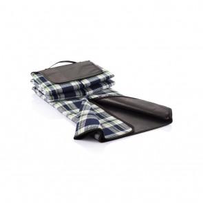 Tartan picnic blanket,
