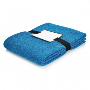 Luxury blanket, blue