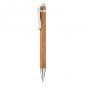 Bamboo pen, brown