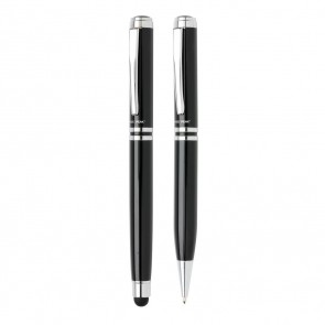 Swiss Peak executive pen set, black