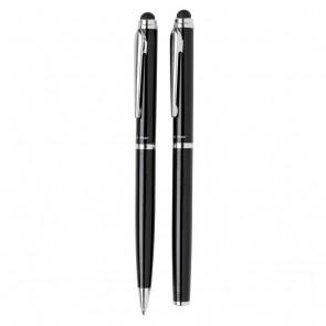 Swiss Peak deluxe pen set, black