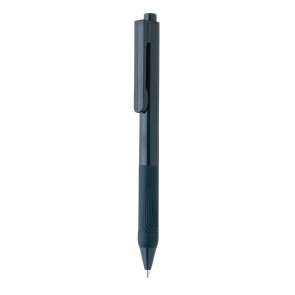 X9 solid pen with silicon grip,
