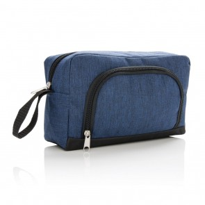 Classic two tone toiletry bag,