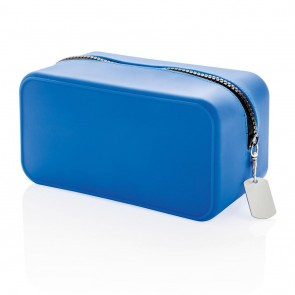 Leak proof silicon toiletry bag,