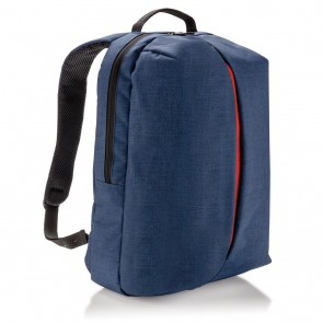 Smart office & sport backpack PVC free, blue