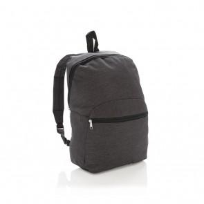 Classic two tone backpack, dark