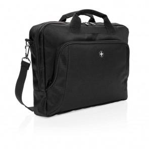 "Swiss Peak deluxe 15.6"" laptop bag PVC free"