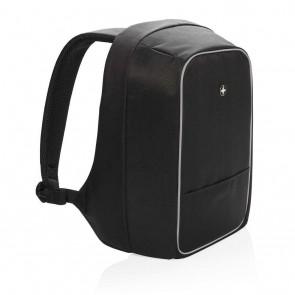 "Swiss Peak anti-theft 15,6"" laptop backpack, black"