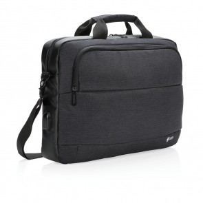 "Swiss Peak modern 15"" laptop bag,"
