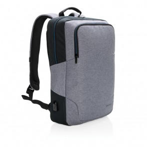 "Arata 15"" laptop backpack, grey"