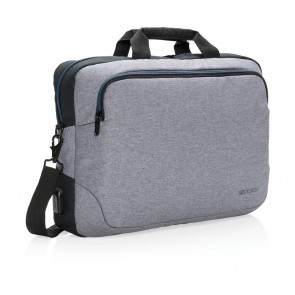 "Arata 15"" laptop bag, grey"