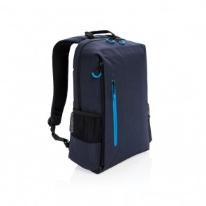 "Lima 15"" RFID & USB laptop backpack,"