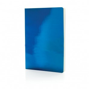 A5 Deluxe metallic notebook,
