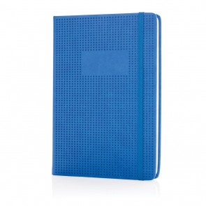 Deluxe hollowed hardcover PU notebook,