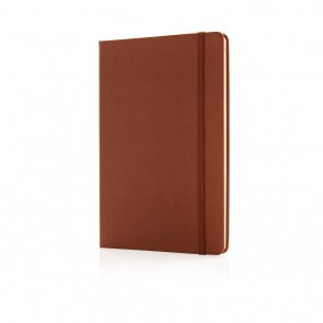 Deluxe hardcover PU A5 notebook,