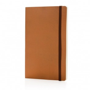Deluxe metallic softcover notebook,