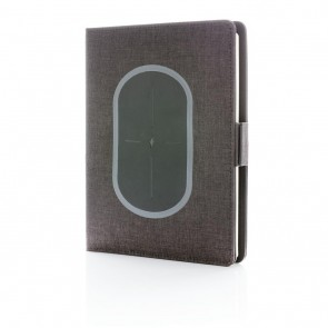 Air 5W wireless charging notebook cover A5, black