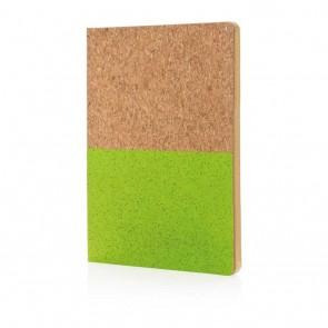 Eco cork notebook,