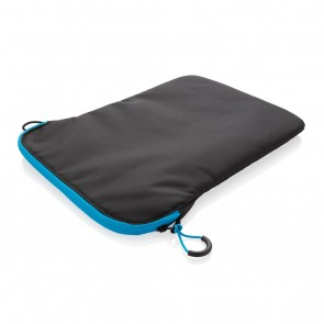 "Lightweight 15.4"" laptop sleeve PVC free, black"