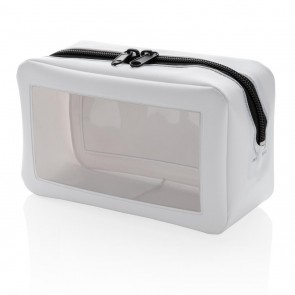 Transparent travel case,
