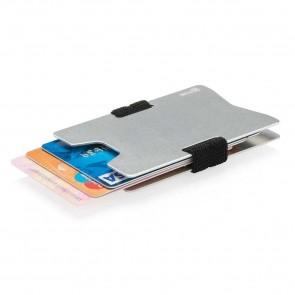 Aluminium RFID anti-skimming minimalist wallet,
