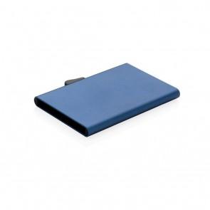 C-Secure aluminum RFID card holder,