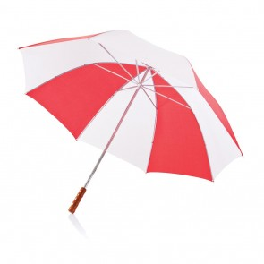 "Deluxe 30"" golf umbrella white"