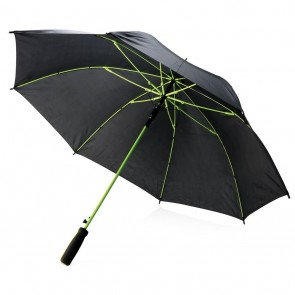 "Coloured 23"" fiberglass umbrella,"