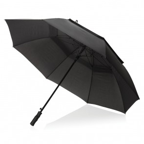 "Swiss Peak Tornado 30"" storm umbrella, black"