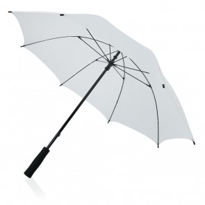 "Full fibreglass 23"" storm umbrella,"