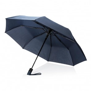 "Deluxe 21"" foldable auto open umbrella,"