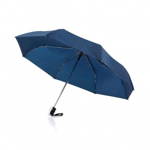 "Deluxe 21,5"" 2 in 1 auto open/close umbrella,"