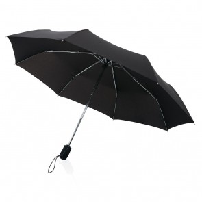 "Swiss peak Traveller 21"" automatic umbrella, black"