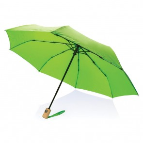 "21"" auto open/close RPET umbrella,"