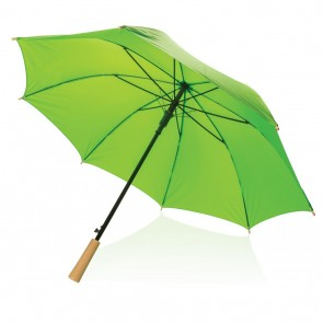 "23"" auto open storm proof RPET umbrella,"