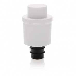 Vacuum wine stopper, white