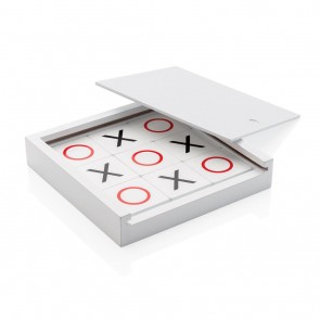 Deluxe Tic Tac Toe game, white