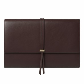 Clutch bag Lien Bordeaux