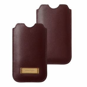 iPhone pouch Evidence Burgundy