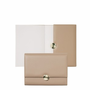 Note pad A6 Médaillon Taupe