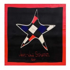 Silk scarf Star